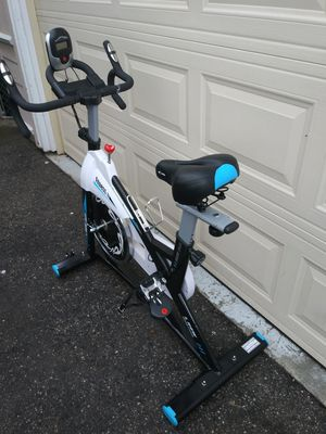 Photo Exercise bicycle, spin bike