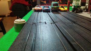 HO scale 4 lane raceway for sale  Neosho, MO
