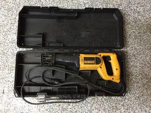 DeWalt reciprocating saw for Sale in Apex, NC