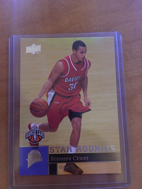 Stephen Curry Rookie Card For Sale In Lake Tapps Wa Offerup