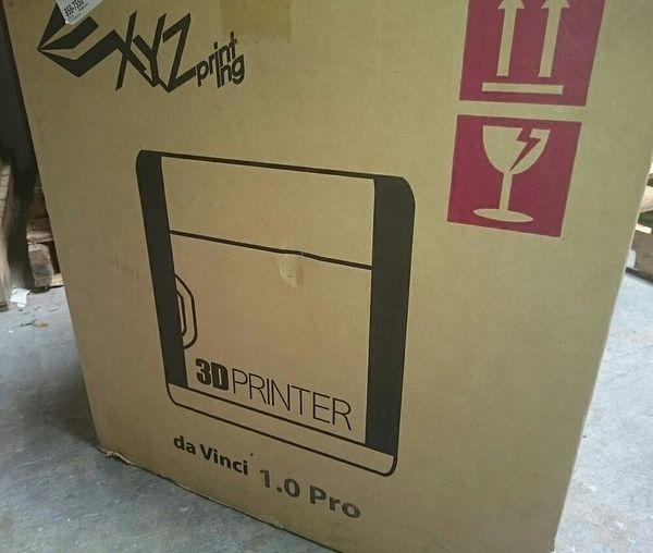 3D Printer NEW IN BOX XYZ da Vinci 1 0 Pro WiFi Open Filament ABS PLA for  Sale in Santee, CA - OfferUp
