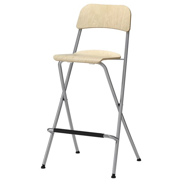 Tremendous Ikea Wooden Metal Folding High Sitting Chair For Sale In Roseville Ca Offerup Caraccident5 Cool Chair Designs And Ideas Caraccident5Info