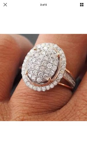 14k rose gold plated Wedding engagement ring for Sale in Silver Spring, MD