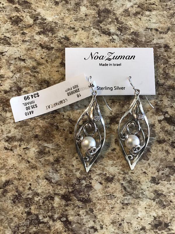 f66030699 NOA ZUMAN. STERLING SILVER. EARRINGS MADE IN ISRAEL for Sale in ...