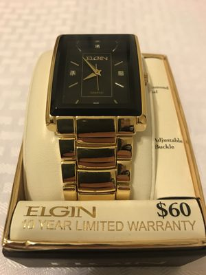 Brand New Elgin Men's Watch for Sale in Garner, NC