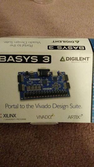 Digilent, FPGA, Xilinx, Basys 3 board for Sale in Detroit