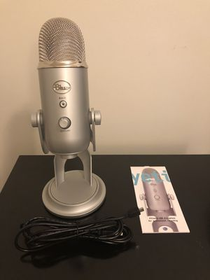 Blue Yeti Microphone for Sale in Frederick, MD