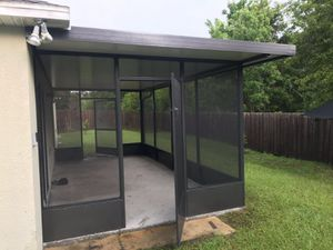 Sale aluminio porche lanai screen door pool panel insulated roof for Sale in Kissimmee, FL