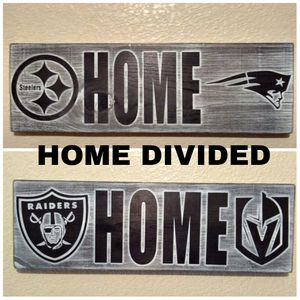 HOME DIVIDED wood plaque for Sale in Henderson, NV