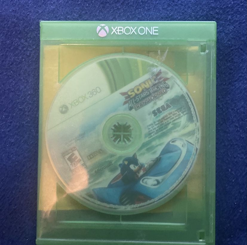 Sonic All Stars Racing Transformed (Xbox 360 And Xbox One)