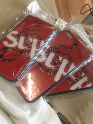 Supreme iPhone cases 6 6plus 7 7plus 8 8plus X for Sale in Miami, FL