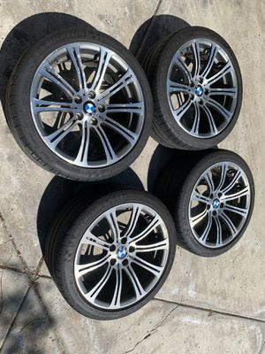 Photo Oem bmw m3 wheels style 220 5x120 19x8.5 19x9.5