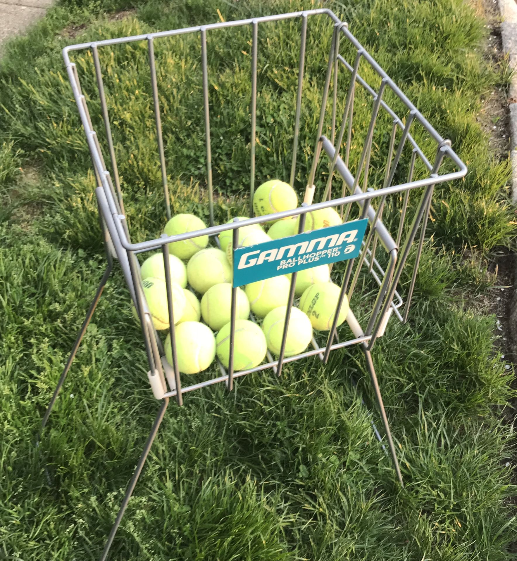 Gamma Ball Hopper Pro Plus 110