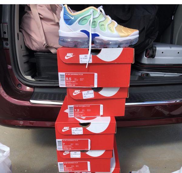 separation shoes 6c863 07344 Nike Air VaporMax Plus Light Menta Size 7