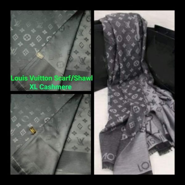 bfe4ba58e03e LOVELY 😍💜 LOUIS VUITTON CASHMERE (XL) SCARF SHAWL FROM PARIS ...