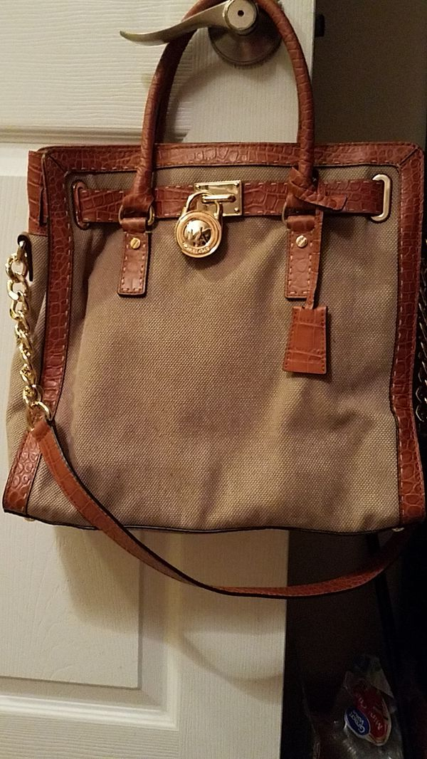 c6a1dc33c0a3e Authentic Michael Kors denim purse. With Authentic tag . Used. for ...