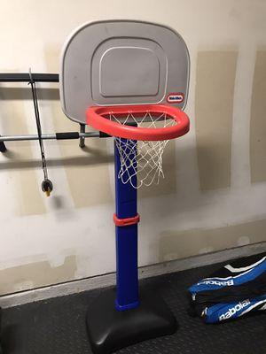 Photo Kids Basketball Goal- Little Tikes
