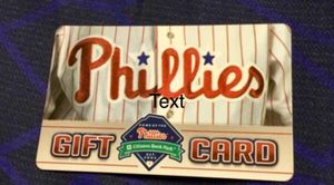Phillies Tickets and Merchandise $200 G1ft Cerd for Sale in Philadelphia, PA