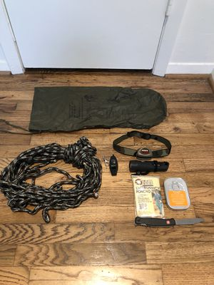Assortment of survival/camping gear for Sale in Dallas, TX