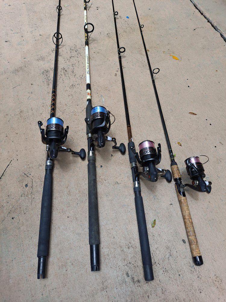 Penn Battle3...5000 With 8 Feet Rod...160.00 Each