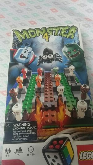 Monster 4 Lego board game for Sale in Oakton, VA