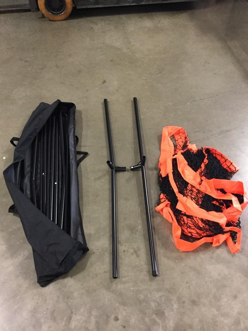 CHAMPRO MVP Multisport Oversized Portable Barrier - 20 x 8 - NLB