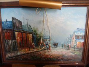 Beautiful origonal oil on canvas painting for Sale in Nashville, TN