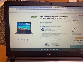 """Acer Chromebook 15"""" CB3-532 Thumbnail"""