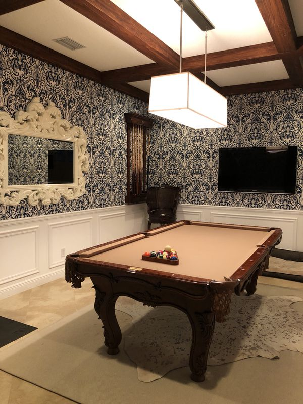 Thomas Aaron Pool Table For Sale In Palm Beach Gardens FL OfferUp - Thomas aaron pool table