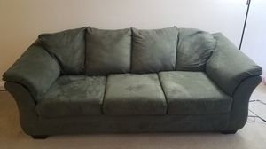 Ashley Dracy Sofa, sage color for Sale in Reston, VA