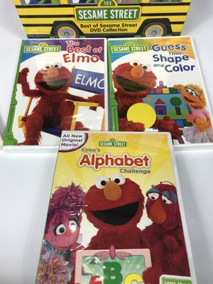 Sesame Street Elmo DVD Lot Collection for Sale in Zion, IL - OfferUp