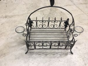 Candle holder basket for Sale in St. Peters, MO