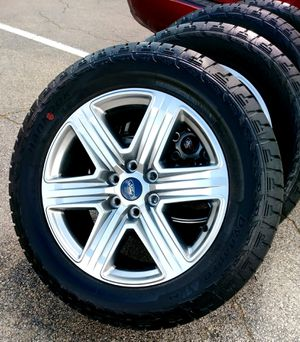 Photo 2019 FORD F150 FX4 GUNMETAL RIMS & BRAND NEW ALL-TERRAIN TIRES