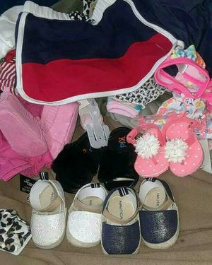 New born clothes 0-3 3-6 months all brand new tags 60$ couldn't post video but its 250$ worth of clothes an shoes for Sale in Washington, DC