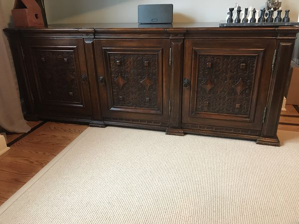 abc home media console furniture in new york ny offerup