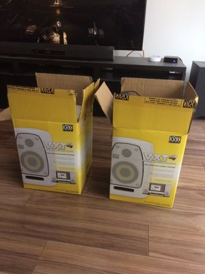 KRK VXT4 - Studio Monitors with Pads for Sale in Chicago, IL