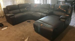 Sectional chase recliner sofa couch for Sale in Phoenix, AZ