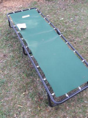 Cot by coleman ridgeline 3. Cpmpare at $60. 300 other items. look under sellers other items for Sale in Atlanta, GA