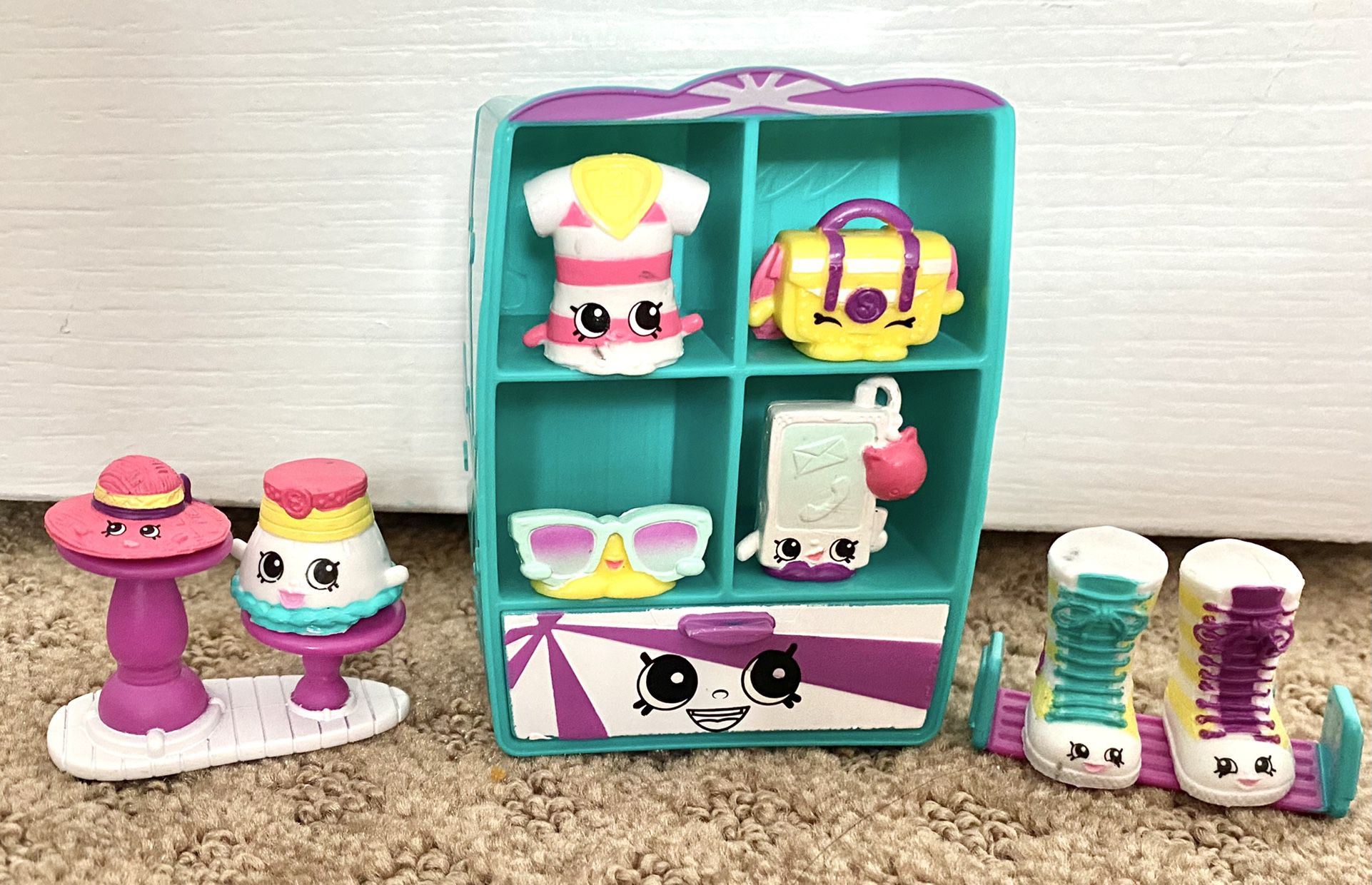 Shopkins S3 Fashion Pack Cool Causal Collection