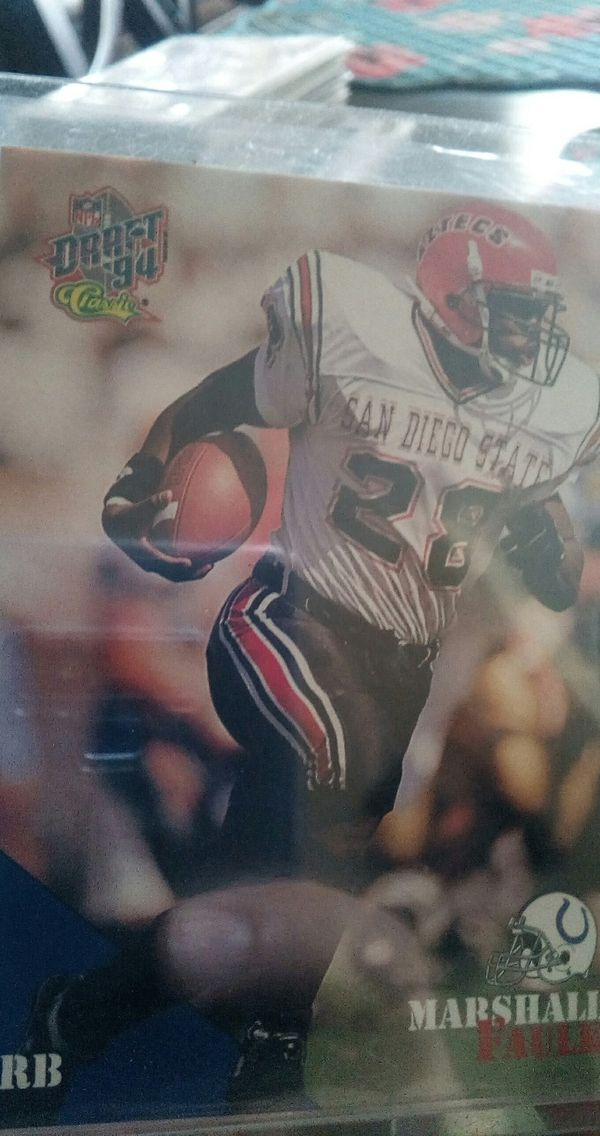 Football Cards Marshall Faulk Rookie Cards For Sale In New Port Richey Fl Offerup