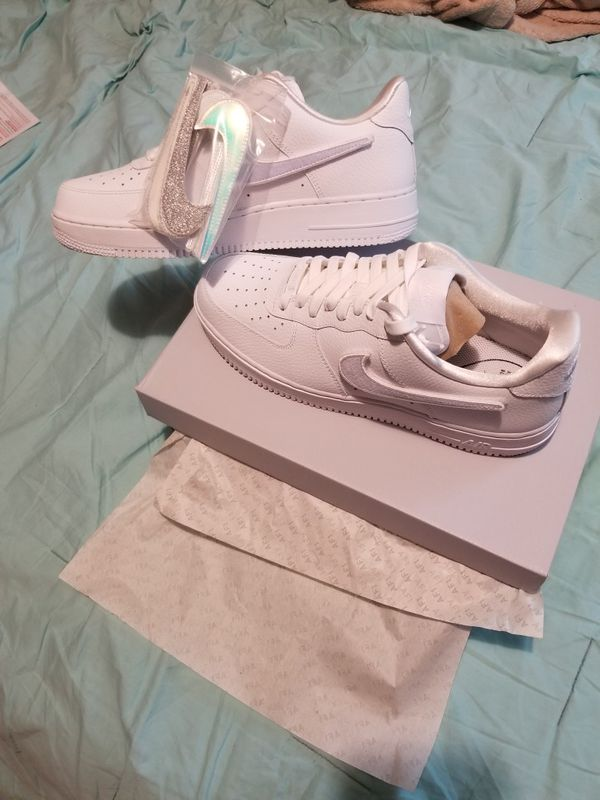 New Nike Air Force One 1 100 swoosh pack size 12w / men for