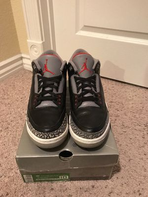 quality design b5e01 6bed1 uk air jordan 2001 black cement 3 size 10 worn for sale in las vegas nv