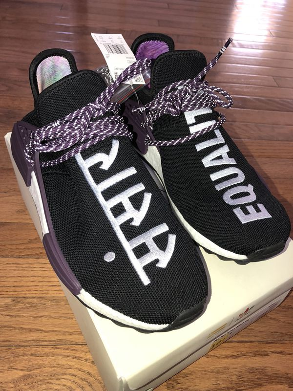 size 40 60a39 1f6c8 Brand new adidas human race nmd holi black purple size 10.5 for Sale in  Sterling, VA - OfferUp