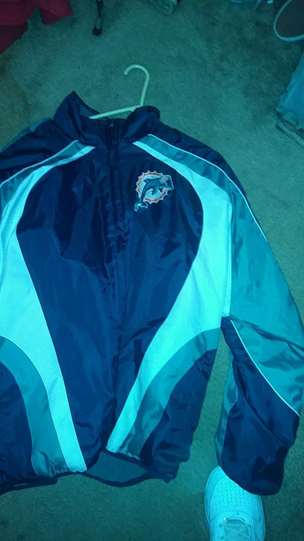 big sale 56cda 93da3 Miami dolphins jacket. NFL, real one for Sale in Fresno, CA - OfferUp