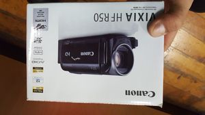Canon VIXIA HF R50 Full HD Camcorder with Wi-Fi and 3-Inch LCD (Black for Sale in Baltimore, MD