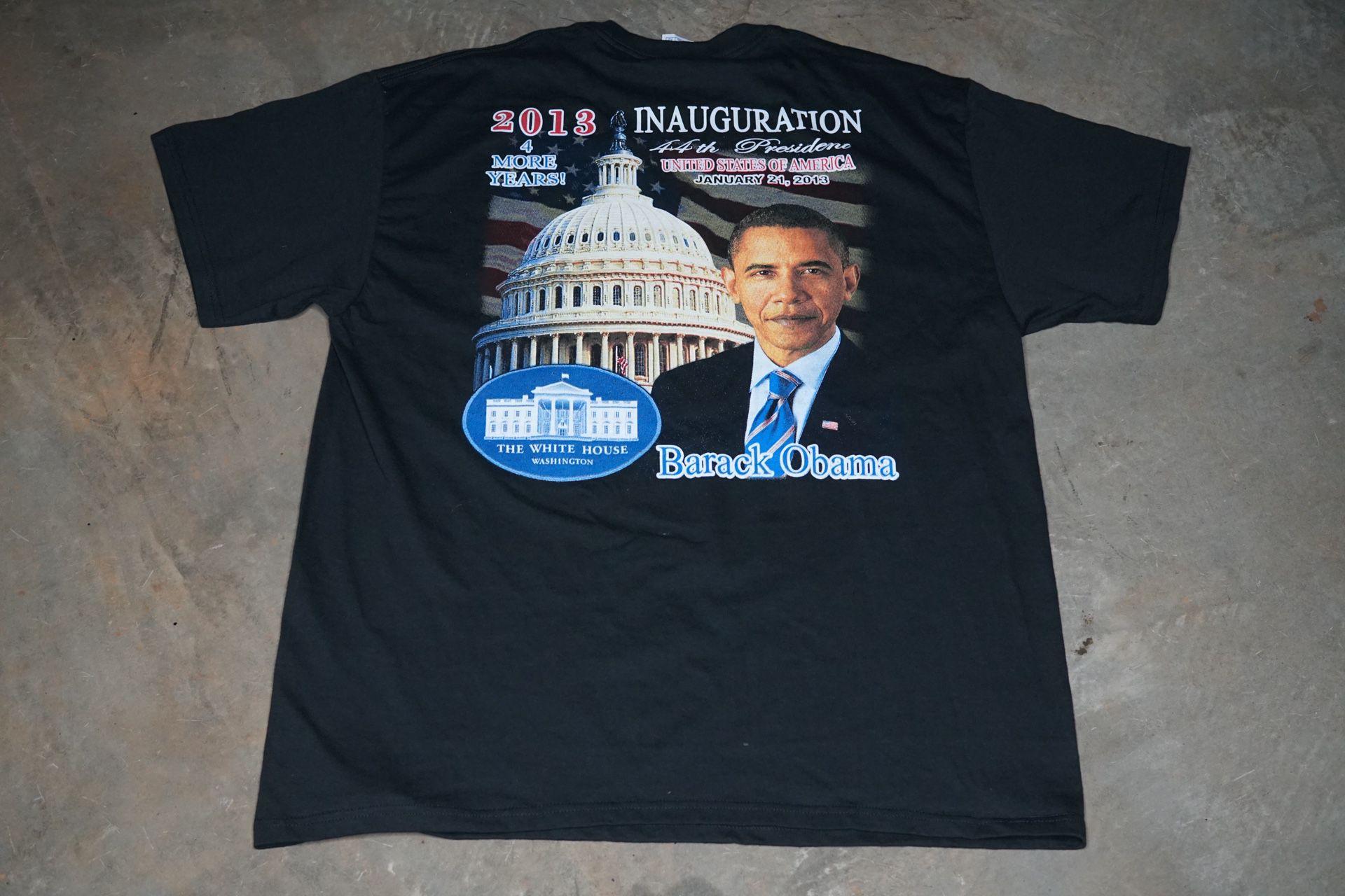 2013 Presidential Inauguration T-Shirt Size XL