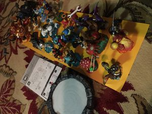 Skylanders giants figures for wii or Wii U for Sale in Bellevue, WA