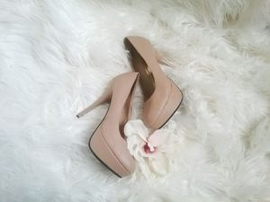 Bamboo Natural Platform Heels for Sale in Reno, NV