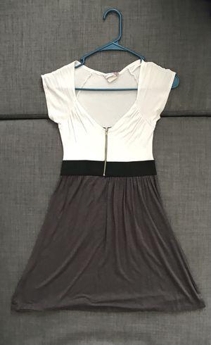 White and Dark Grey Summer Dress for Sale in Washington, DC