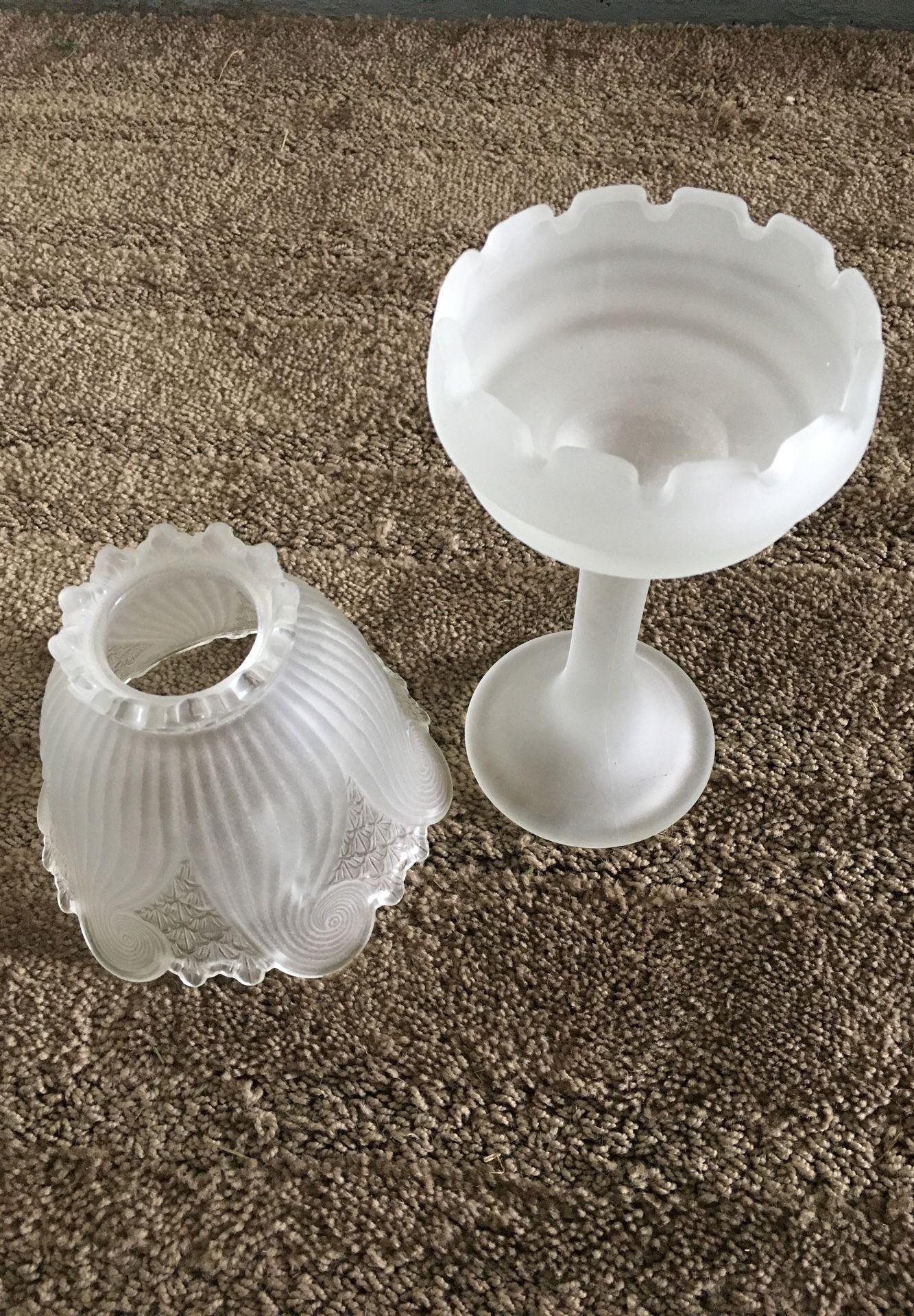 Candelite glass globe